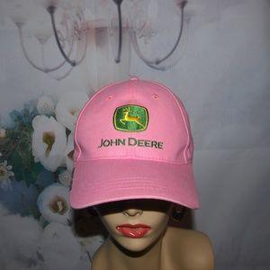 John Deere Hat Pink Owners Edition NWOT